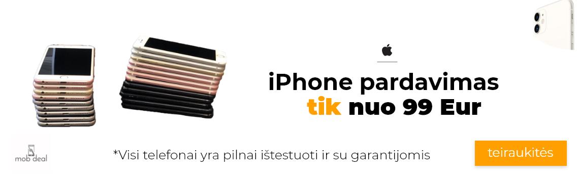 iphone pardavimas geriausiomis kainomis ir su garantija. Visi iphone telefonai yra pilnai istestuoti ir laukia savo seimininku