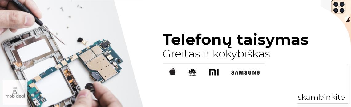 Telefonų taisymas ir iphone pardavimas Kaune, Šilainiuose. Siunčiame ir į kitus miestus